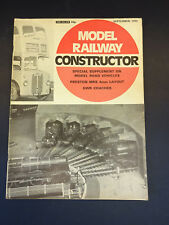 Model Railway Constructor: Sept 1972: Model Road Vehicles, GWR Coaches