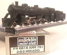 Marklin Z FR 6816 ARR Custom Loco # 751 2-8-2 Mikado w/ Tender (Tested) LNIB