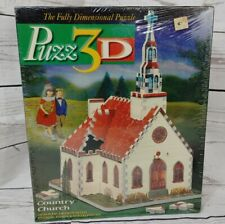 PUZZ3D COUNTRY CHURCH Puzzle NEW Sealed