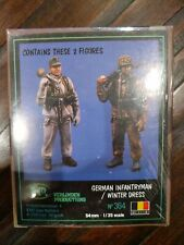 New Verlinden Productions 1/35 54mm German Infantryman / Winter Dress 364