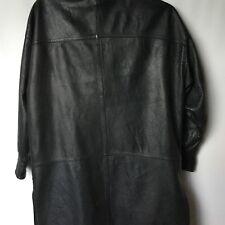 Abrigo Vintage De Piel De Raminlo.  Talla 44