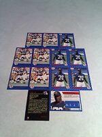 *****Harold Hallman*****  Lot of 21 cards.....3 DIFFERENT / Football / CFL