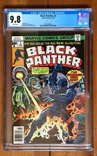BLACK PANTHER #2 CGC 9.8 White Pages *Highest Graded* JACK KIRBY Marvel MCU