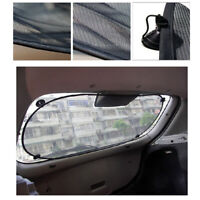 1x Black Nylon Side Rear Window Screen Sunshade Sun Shade Cover Car Accessories