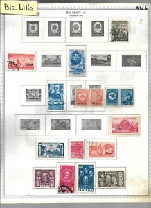 BIS_LIKE:many stamps Romania used/ MH LOT AP 03-216