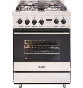 Kitchen Appliance 60cm Oven Freestanding Dual Fuel Cooker #FS607G4DS