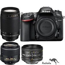 3YR AU WTY☆FREE POSTAGE☆Nikon D7200+18-55mm+70-300mm+50mm f/1.8D Lens Camera Kit