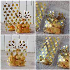 100Pcs Bonbon Cookie Sac Pois Pr Biscuit Sachet Emballage Fête Noël 13*21+4cm NF