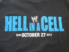 "Rare WWE ""HELL IN A CELL"" Sunday OCTOBER 27, 2013 CREW (LG) T-Shirt"
