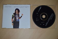 Des'ree - What's your sing. Black. CD-Single (CP1708)