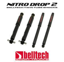 99-06 Silverado/Sierra Nitro Drop 2 Front/Rear Shocks for 5/7 Drop by Belltech