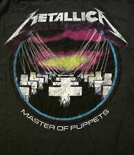 METALLICA cd cvr MASTER OF PUPPETS VINTAGE STYLE Official Grey SHIRT XL new