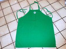 Vintage Green STARBUCKS APRON 2 Pockets SBUX