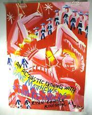 DAVE MATTHEWS BAND Tim Reynolds CONCERT POSTER Ryan Center Kingston RI Keene 03