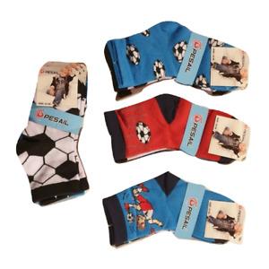12 paires  chaussettes garçon ,chaussette enfant ,chaussettes coton