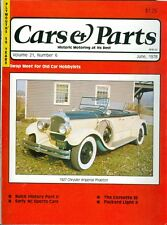 1978 Cars & Parts Magazine: 1927 Chrysler Imperial Phaeton/50 Years of Plymouth