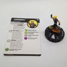 Heroclix Deadpool & X-Force set Cannonball #057 Super Rare figure w/card!