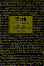 NEW Bach and the Riddle of the Number Alphabet by Ruth Tatlow