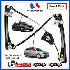 Mécanisme Léve Vitre Avant Droit pour Seat Ibiza 6L1 & Cordoba 6L2 = 6L4837462