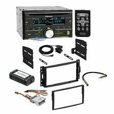 Pioneer Car Sirius Xm Stereo Dash Kit Amp Harness for Chevrolet Pontiac Saturn