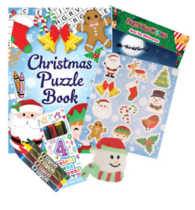 Christmas Activity Pack perfect party bag filler or time passer