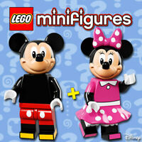 LEGO Minifigures Disney #71012 - Mickey Mouse + Minnie Mouse - 100% NEW / NEUF