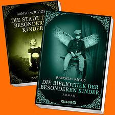 Ransom Riggs | Die Stadt + Bibliothek der besonderen Kinder | (Band 2+3) (Buch)