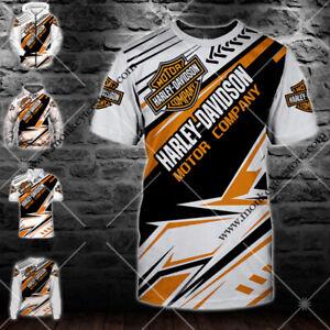 Harley-Davidson Motorcycle-Top Gift-Men's Hoodie/Zip/Polo/Long Sleeve/T-Shirt