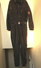 Vintage_Hooded Kaelin DuPont Thermolite Thin Insulation Belted SnowSuit_Xxl_Blck