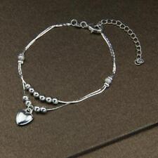 schmuck silber mode rosa liebe herz armband armband