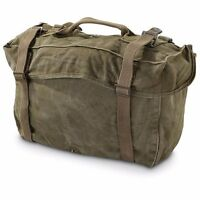 EX ISSUE AMERICAN U.S ARMY MILITARY CARGO BAG M1945 KOREAN ERA US CADETS SCOUTS