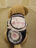 Small Pets Dog/cat Denim Vest Puppy Cat Warm Sweater Coat Jacket Apparel