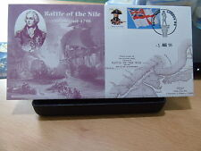 QC COLLECTION GB ALBUM 1ST AUG 2005 BATTLE OF THE NILE AG BRADBURY LE 250