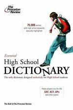 College Test Prep: Essential High School Dictionary (2006, Paperback)