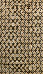 Geometric Transitional Oriental Area Rug Wool/ Silk Hand-tufted 6x8 BLACK FRIDAY