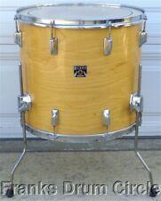 """Vintage Tama Superstar 18"""" Floor Tom Super Maple Natural Finish Star drum set"""