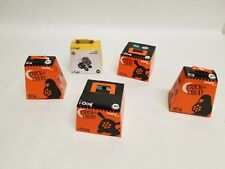 Lot of 5 Burger King Trick or Treat 2008 Figure - I-CAT and I-DOG I-CY
