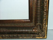 """FRAME MASSIVE FRENCH BAROQUE OGEE COVE APPLIED ORNAMENT FITS  30"""" x 40"""" WOOD"""
