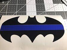 Thin Blue Line Batman Police Vinyl Decal Window Sticker For Car Truck SUV