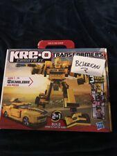 Transformers Kreo Kre-o Bumblebee 36421 Building Set 3 Kreons With Red Alert New