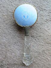 Vintage Cut Glass handle Vanity Brush
