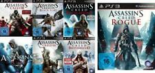 Playstation 3 Assassins Creed 7 PACK 1 2 3 4 Brotherhood Revelations Rogue SG