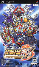 Used PSP  Super Robot Taisen MX Portable SONY PLAYSTATION JAPAN IMPORT