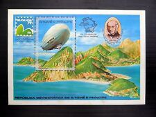 More details for st thomas & prince islands wholesale 1978 rowland hill zeppelin m/sht x50 nb829