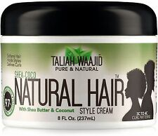 Taliah Waajid Natural Hair Style Cream 8 oz (Pack of 2)