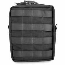 Bulldog MOLLE Military Tactical Webbing Zipped Large Upright Utility Pouch Black