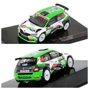1/43 Ixo Skoda Fabia R5 Evo N°34 Mikkelsen/Synnevaag Monza 2020 Livrais Domicile