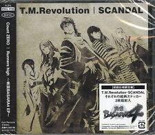 T.M.REVOLUTION / SCANDAL-COUNT ZERO / RUNNERS HIGH-JAPAN CD C06