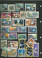 Raumfahrt Stamps Briefmarken Sellos Timbres