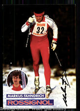 Markus Fähndrich TOP AK  80er Jahre Orig. Sign.+ A 4688 + A 66263